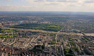 Chelsea London from the air