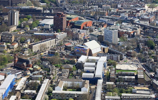 Brixton London from the air