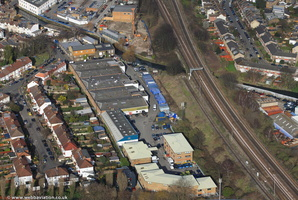 Haslemere Industrial Estate London SW18   from the air