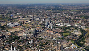 Stratford  , London from the air