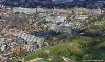 Aylesbury Estate Walworth London from the air