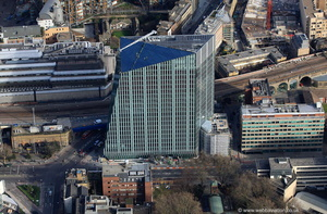 240 Blackfriars Rd London SE1 8NY from the air