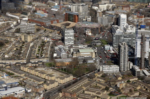 The Elephant and Castle from the air