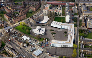 Ark Globe Academy from the air