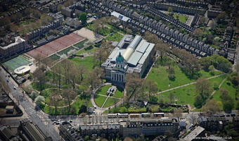 Imperial War Museum London  from the air