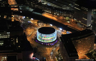 London IMAX Cinema from the air