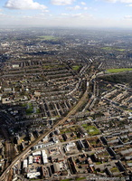 Peckham London  from the air