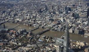 Southwark Londonfrom the air