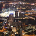 New Providence Wharf  London from the air