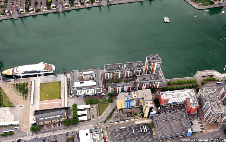 Royal Victoria Dock from the air