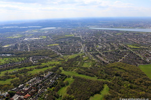 Chingford  from the air