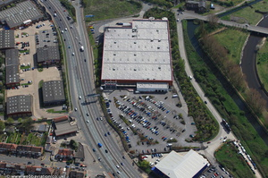 Costco Chingford  from the air