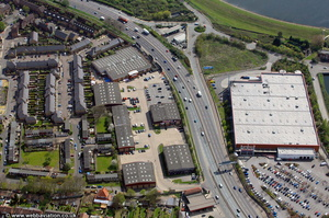 Deacon Trading Estate from the air