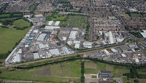 Forest Business Park Walthamstow London  from the air