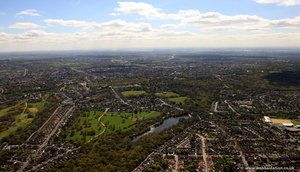Highams Park Waltham Forest aerial photo