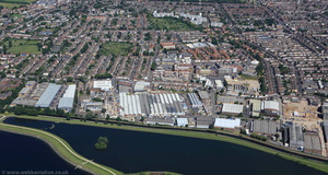 Uplands Business Park  from the air