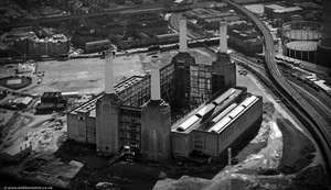 Battersea Power Station from the air