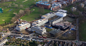 Burntwood School Wandsworth from the air