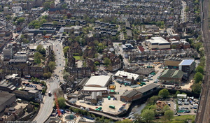 Frogmore London Wandsworth SW18 1HF from the air