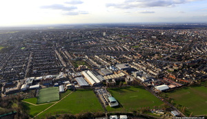 Southfields , Wandsworth  from the air