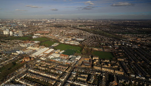 Merton Rd, Wandsworth  from the air