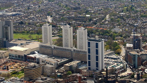 Southside Shopping Centre  Wandsworth from the air