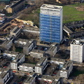 Winstanley Estate  from the air