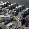 Riverside West, Wandsworth from the air
