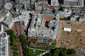 Old Admiralty Building London aerial photo