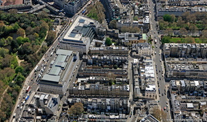 Chester Street Belgravia London aerial photo