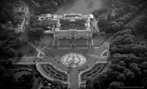 Buckingham Palace  aerial photo
