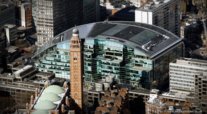 Cardinal Place London aerial photo