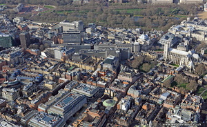 Great Peter St Westminster London aerial photo