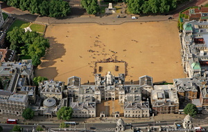 Horse Guards Parade aerial photo