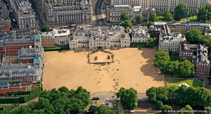 Horse Guards Parade  London aerial photo