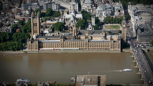 Houses of Parliament aerial photo