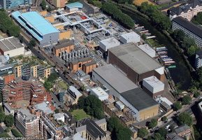 St John's Wood substation from the air