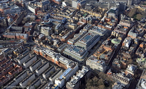 Marsham Street Westminster aerial photo