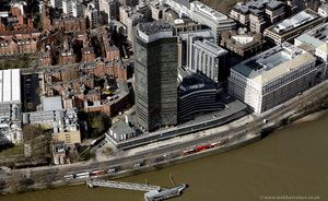 Millbank Tower London aerial photo