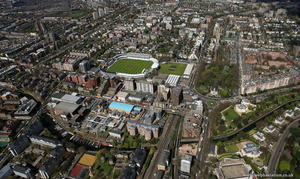 St Johns Wood London aerial photo