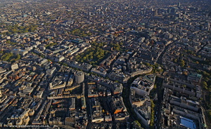 Kingsway Westminster London  aerial photo