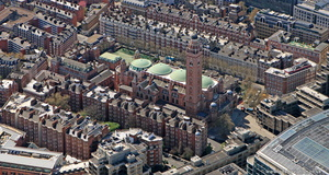 Westminster Cathedral aerial photo