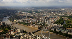 the City of Westminster aerial photo