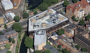 Westminster City Council Lisson Grove building from the air