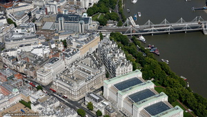 The Old War Office Whitehall  London aerial photo