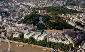 Whitehall  London aerial photo