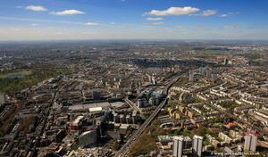 Paddington  London aerial photo