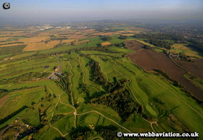 Houghwood Golf Club  Billinge Hill aerial photograph