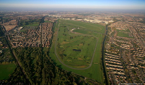 Aintree Racecourse aerial photograph