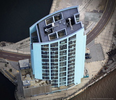 Alexandra Tower Liverpool  aerial photograph